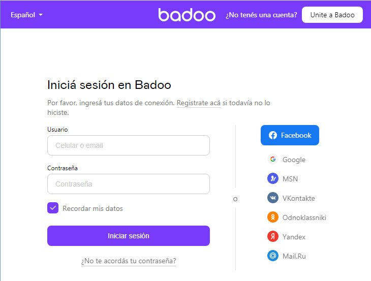 Badoo PC