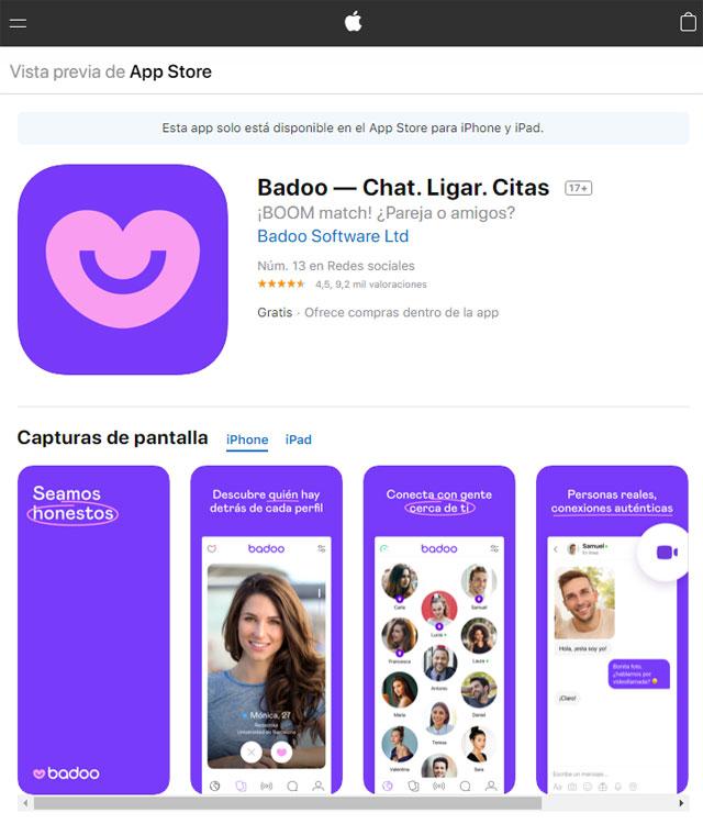 Badoo iOS