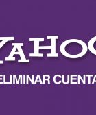 Eliminar cuenta Yahoo