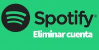 Spotify eliminar cuenta