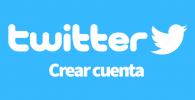 Twitter crear cuenta