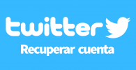 Twitter recuperar cuenta